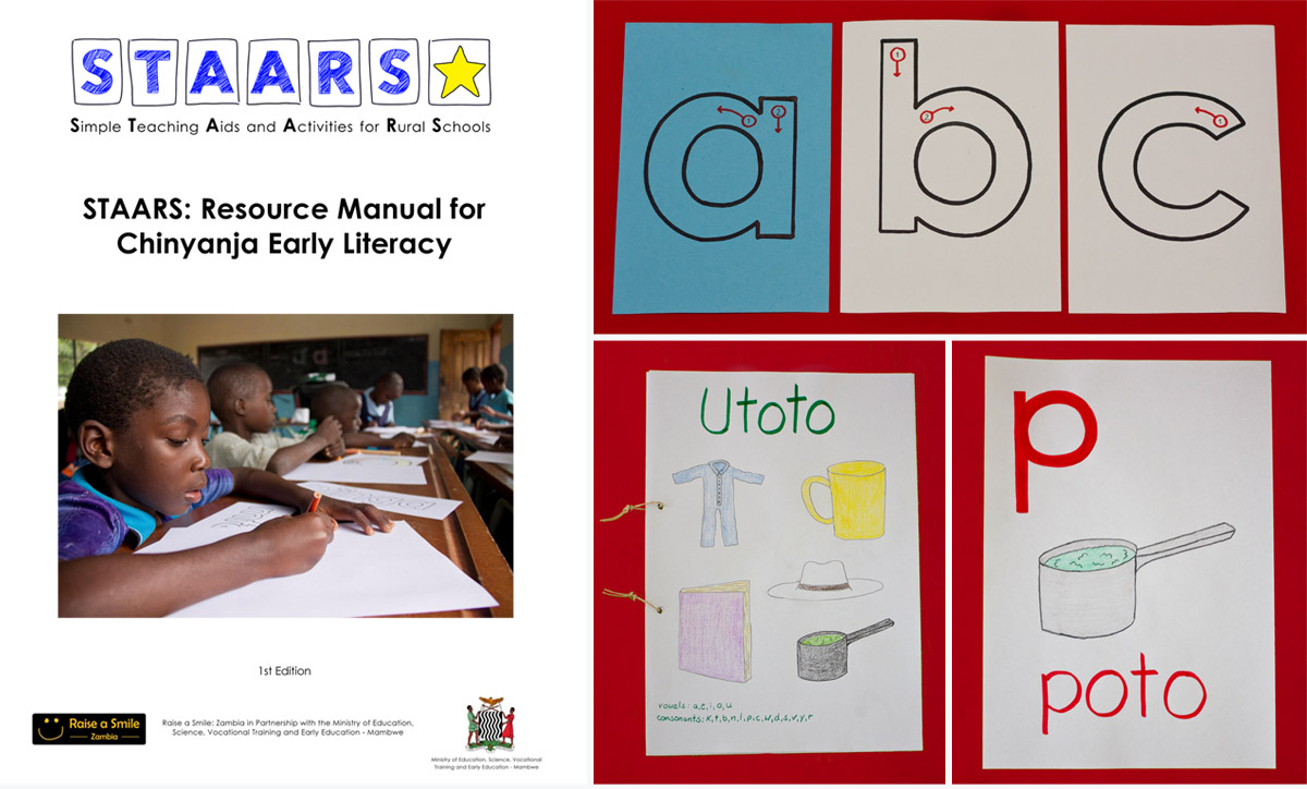 STAARS resource manual for early literacy in chinyanja