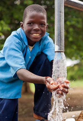 pupils with clean drinking water can stay healthy