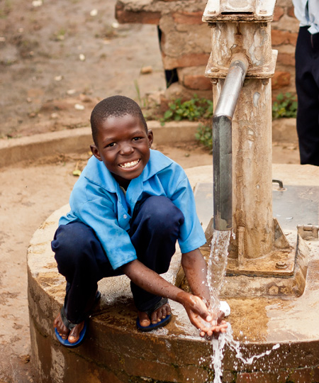 WASH in Schools in Zambia - Raise a Smile projects