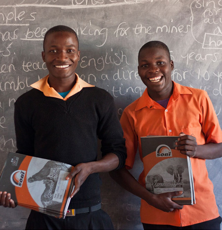 School pupil sponsorship scheme for vulnerable children in Zambia